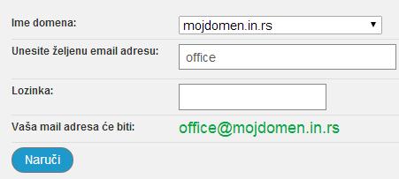 Kreiranje email naloga 3
