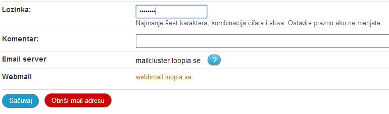 Kreiranje email naloga 6a