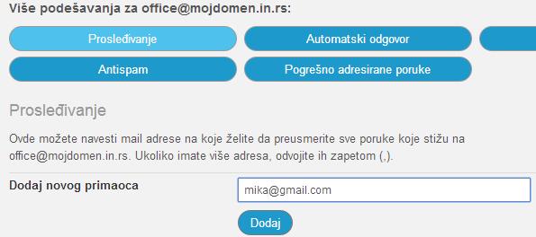 Kreiranje email naloga 8