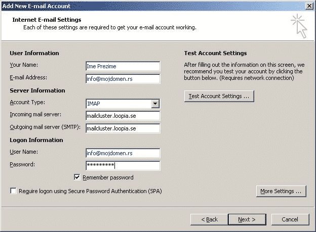 Outlook2007-3-imap