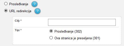 URL redirekcija