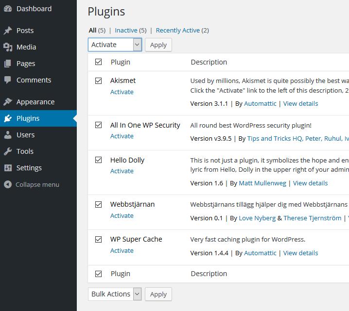 WordPress Multisite 11