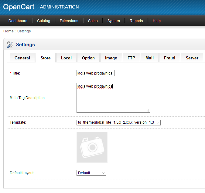 OpenCart7